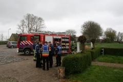 Oefening brandweerkorpsen Vrouwbuurtstermolen