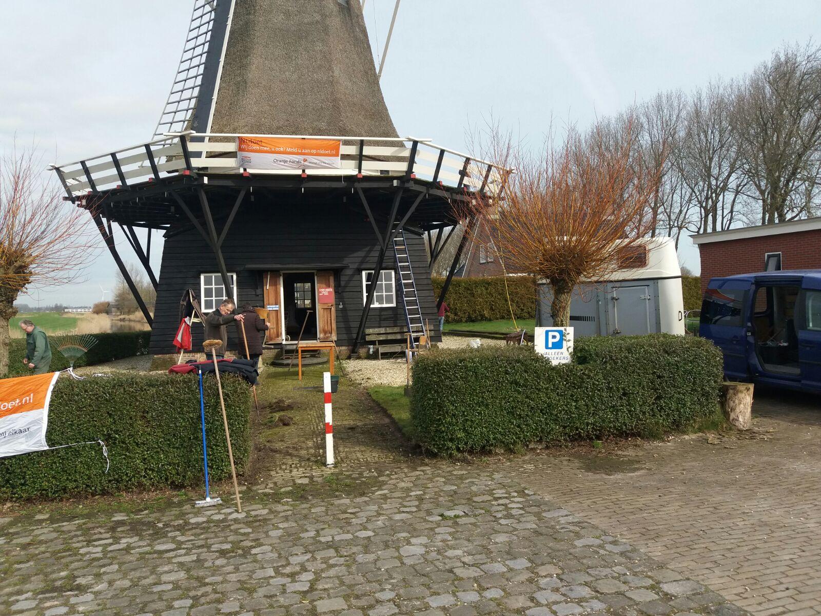 Vrouwbuurtstermolen NL Doet 2017