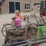 Oud ijzer actie de Vrouwbuurtstermolen 2015
